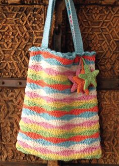Starfish Beach Bag by Nicki Trench   Inside Crochet Magazine, Blog   Inside Crochet