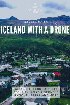 Travelling to Iceland with a drone? Thinking of using drones in Iceland? See the precautions you should be taking and how to get through airport security #travellingwithadrone