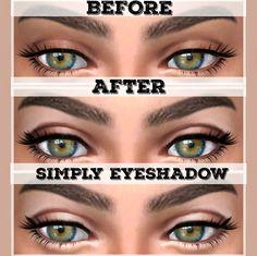 Simply Eyeshadow at Kenzar Sims via Sims 4 Updates  Check more at http://sims4updates.net/make-up/simply-eyeshadow-at-kenzar-sims/