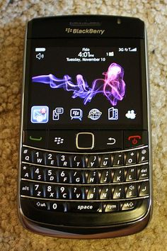 12.  My Bold 9700 which had the trackpad