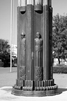 Art Deco Light Post, Fair Park, Dallas, Texas
