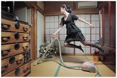 공중부양 사진작가 - 하야시나츠미