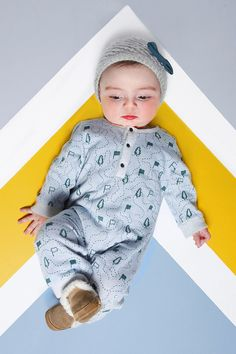 Tout Schuss Baby Overall from Mini Ruby