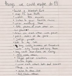 Me And My Bf Have A List Too