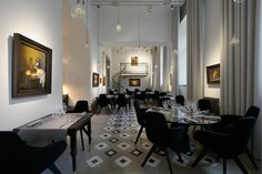 Art Prior is a fine dining restaurant, focusing on Estonian and Nordic tastes with Asian flavors. The interior design of the restaurant is an experience, like eating in the art museum. Luminaire Design, Light Design, Decoration, Fine Dining, Pendant Lamp, Floor Lamp, Table Lamp, King, Lights