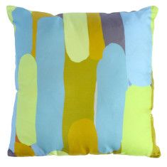 Silk cushion in martini