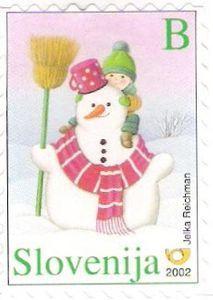#Slovenia 2002 #stamp