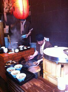 "Traditional ""slack season"" noodle shop in Taiwan"