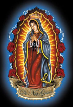 our lady of guadalupe virgin mary blessed mother por eclecticforest jose pinterest mothers. Black Bedroom Furniture Sets. Home Design Ideas