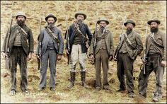 """captain-price-official: """"Boer officers in """" Ww1 History, African History, Military History, The Spanish American War, Archaeological Discoveries, Military Modelling, War Photography, The Old Days, British Army"""