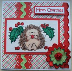 Penny Black Christmas card x