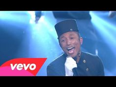 Pharrell Williams - Happy (57th GRAMMYs) - YouTube