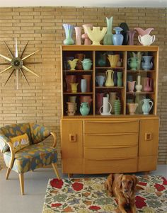 1940s and 1950s house designs | ... -Wakefield furnishings add overall continuity to her family's home