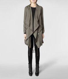 AllSaints Portere Parka | Womens Trench Coats