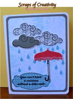 CTMH Rain or Shine stamp set