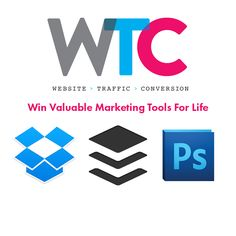 This is an awesome company with a fabulous giveaway!! Win Dropbox Pro, Buffer Awesome, or Photography CC for life!