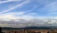 Vistas de Barcelona Barcelona, Natural, Spain, Clouds, Mountains, Summer, Travel, Outdoor, Life
