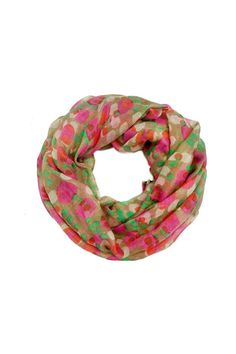This lightweight multi colored polka dot print scarf is a must have for the fall and winter seasons! Pair this with any outfit to add a fun pop of color! Dress this up or down. Very versatile, even wear it as a head wrap!   Multi-Colored Scarf Accessories - Scarves & Wraps Las Vegas