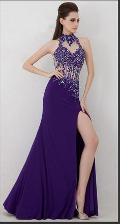 Crystal ,Beading Evening Dress,custom made ,handmade Evening Dress,cheap