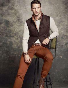 Tomas Skoloudik Models Massimo Dutti Pre Fall 2014 Collection image dutti005