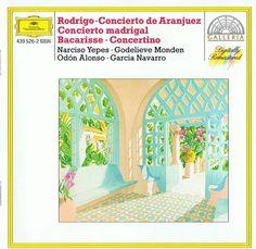 Rodrigo-Concierto de Aranjuez-Concierto madrigal-Bacarisse-Concertino