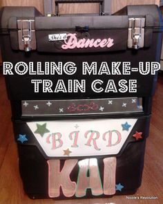 DIY Rolling Make-Up Train Case for $30. Heck Yeah!