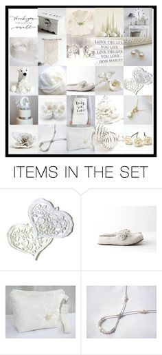 """""""White Collection"""" by andreadawn1 ❤ liked on Polyvore featuring art"""