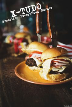 X-Tudo Brazilian Everything Burger || GirlCarnivore.com #flavorstory #burgermonth