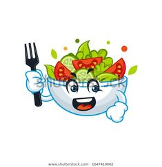 Find Vector Mascot Cartoon Illustration Salad Bowl stock images in HD and millions of other royalty-free stock photos, illustrations and vectors in the Shutterstock collection. Thousands of new, high-quality pictures added every day. Salad Bowls, Noodle, Disney Characters, Fictional Characters, Royalty Free Stock Photos, Snoopy, Cartoon, Fruit, Fork