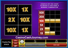 Players can scratch a virtual or real card to see if they reveal the right combination of symbols to win a prize. Do you know when and how they originated? Read more at http://blog.casinocashjourney.com/2013/10/07/history-scratch-cards/