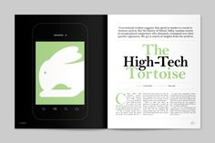 Think Quarterly by Human After All , via Behance
