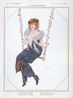 La Vie Parisienne, Illustrator: Raphael Kirchner