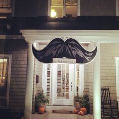 Image result for moustache entrance