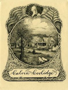 Calvin Coolidge | 35 Bookplates Belonging To Famous People