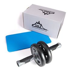 Black Mountain Products Dual Stability Ab Wheel with Knee Mat *** To view further for this item, visit the image link. (This is an affiliate link) #ExerciseandFitnessEquipment