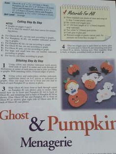 Ghost & pumpkin menagerie 1