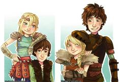 How to Train Your Dragon, Astrid, Hiccup