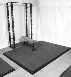 outlines on the good basics of a home gym setup for powerlifting