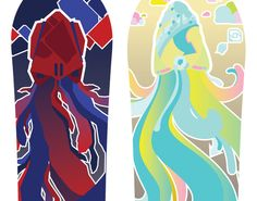 Salomon by Gunnar Frigaard, via Behance Behance