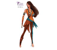 Perfect for a native American/Pocahontas themed guard show Female Catalog | Creative Custuming & Designs