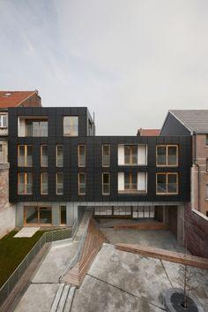 比利时,布鲁塞尔,勒洛兰综合住宅区/MDW Architecture - ArchGo!