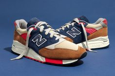 "New Balance and J.Crew have come together once again as a part of the American clothier's ""In Good Company"" releases to drop a new take on the fan-favorite 998. Dubbed the ""Hilltop Blues,"" the summert..."