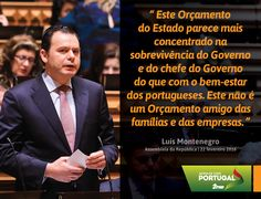 Luís Montenegro, Líder Parlamentar do Partido Social Democrata, no debate do Orçamento do Estado para 2016. #PSD #acimadetudoportugal