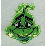 Mr. Mean Green Applique Design