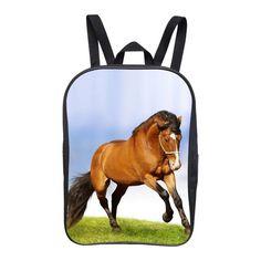 FEIHENG Brand Printing Animal Horse Small Backpack Girls School Bags Children Mini School Backpacks Boys Schoolbag For Kids Boys Backpacks, School Backpacks, Small Backpack, Backpack Bags, Kids Girls, Baby Kids, Baby Boy, School Bags For Kids, Girls School