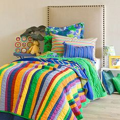 Decorative color kids bedding designs