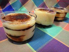 TARTA DE LA ABUELA EN VASITOS INDIVIDUALES Y LIBRO. Snack Recipes, Snacks, Quiches, Mousse, Jelly, Cheesecake, Pudding, Cookies, Desserts