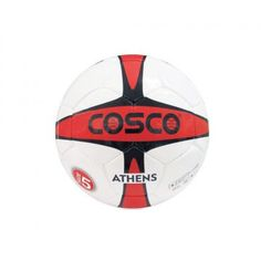 Cosco Athens Football  The Cosco Athens Football Nylon wound for higher shape stability and fitted with butyl bladder for high air retention.