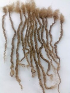 100% Human Hair Locks handmade 12 Dreadlocks up 8''-11'' small free shipping #Humanhairdreadlocks #Dreadlocks