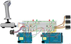 Connection for the test rig Pi Projects, Engineering Projects, Arduino Projects, Electronic Engineering, Electrical Engineering, Diy Electronics, Electronics Projects, Arduino Stepper, Arduino Controller